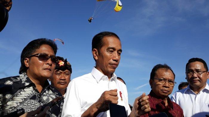 Ditanya Soal Bagi-bagi Jatah Menteri, Jawaban Jokowi Bikin Pembawa Acara Ngakak