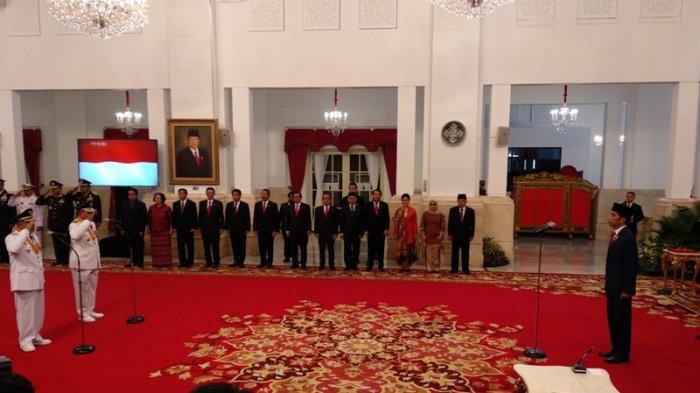 Presiden Jokowi Melantik Gubernur dan Wakil Gubernur Maluku Utara