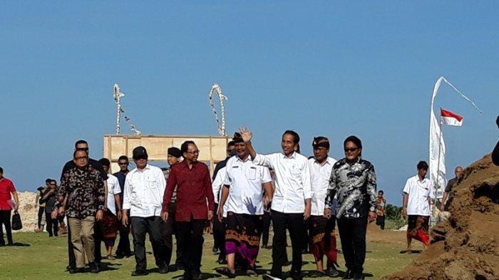 Tiba di Bali, Jokowi Langsung Kunjungi Desa Wisata Kutuh