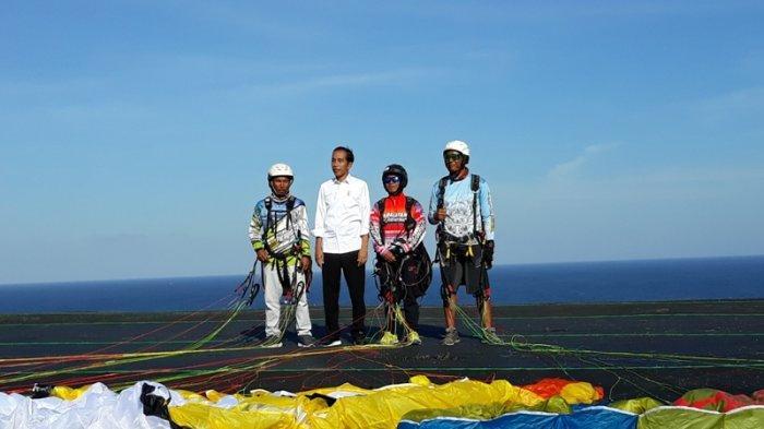 Presiden Jokowi Puji Kemajuan Desa Wisata Kutuh yang ''Disuntik'' Dana Desa