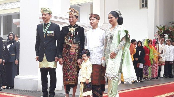 Presiden Jokowi dan AHY