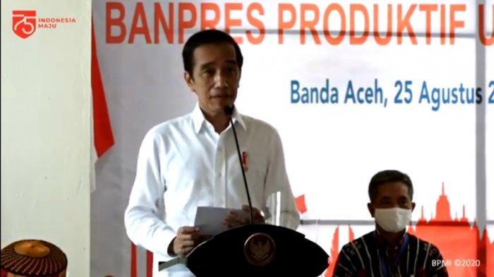 Kunker ke Aceh, Presiden Salurkan 200 Banpres Produktif
