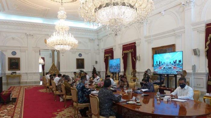 Jokowi Dorong Menteri Miliki Sense of Crisis dan Bekerja Lebih Keras