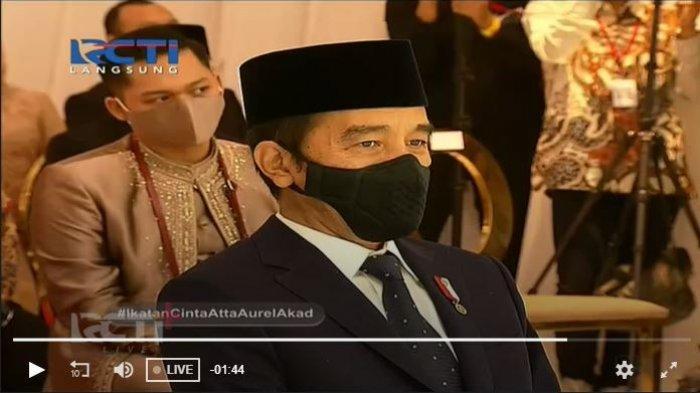 Atta dan Aurel Menikah, Nama Jokowi Trending di Twitter, Warganet Singgung Jangan sampai Cerai