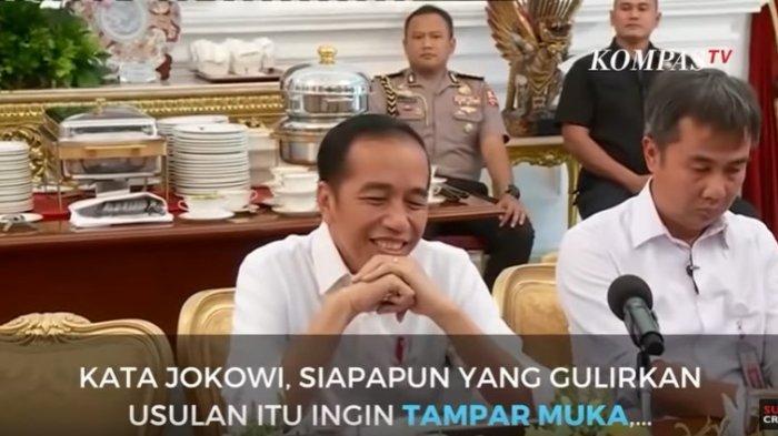 Tolak Jabatan 3 Periode, Presiden Jokowi: Pengusul Ingin Menampar Muka Saya dan Cari Muka