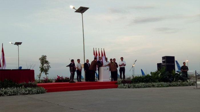 Jokowi Resmikan Proyek Runway III Bandara Soetta Karya PTPP