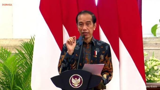 Presiden Jokowi Optimistis Industri Otomotif Bangkit Setelah Diterpa Pandemi