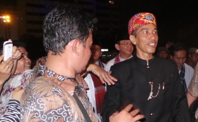 Bertemu Jokowi, Julaika: Saya Senang Bisa Lihat Capres Idola