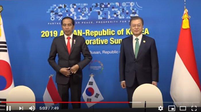 Berlangsung Hangat, Pertemuan Bilateral Jokowi dengan Presiden Korsel Sepakati 3 Kerjasama