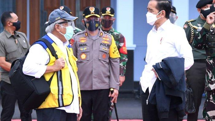 Presiden Joko Widodo (Jokowi) bertolak ke Sulawesi Barat dalam rangka kunjungan kerja pada Selasa (19/1/2021). Kedatangan Presiden ke Sulbar untuk meninjau penanganan bencana gempa yang terjadi di daerah tersebut.