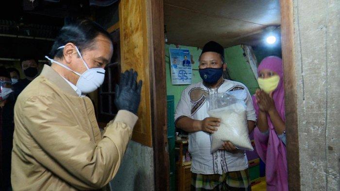 Jokowi: Saya Cek di Lapangan Rumah 3X3 Meter Dihuni Empat Orang