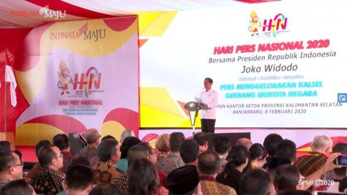 Hari Pers Nasional 2020: Jokowi Ungkapkan Harapannya, Termasuk tentang Virus Corona & Pilkada 2020
