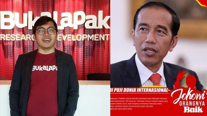 Presiden Minta Stop Uninstall Bukalapak, Tagar #JokowiOrangnyaBaik Langsung Trending di Twitter
