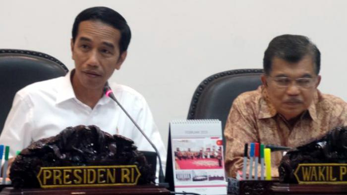 Saat Ikan Bawal, Sate, dan Sayur Oyong Jadi Menu Jokowi-Kalla