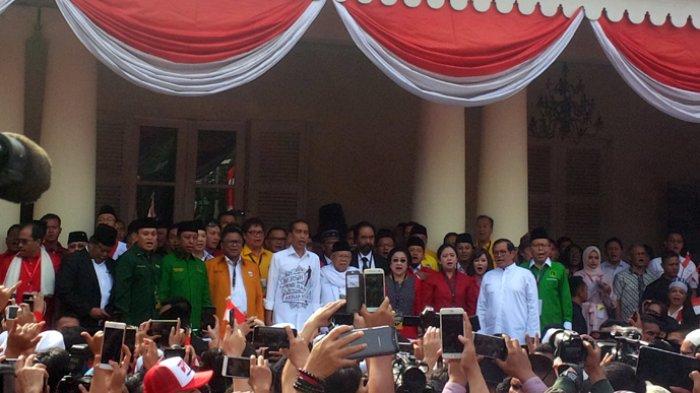 Tim Pemenangan Jokowi-Ma'ruf Telah Terbentuk