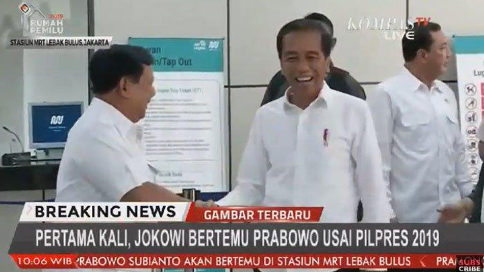 Prabowo Tegur Warga Setelah Ucapkan Selamat ke Jokowi, Sempat Bercanda soal Rambut Putih