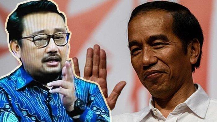 Wakil Sekjen DPP Partai Demokrat, Rachland Nashidik minta maaf ke Jokowi