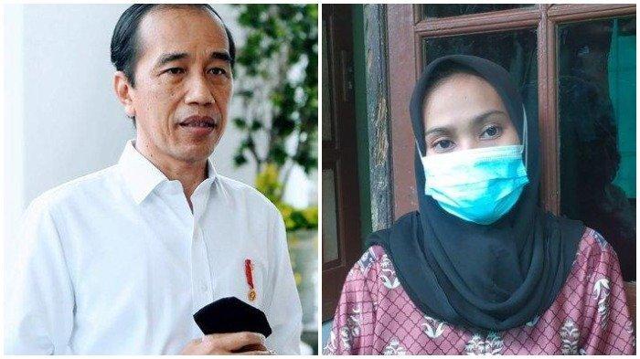 Sosok Istri Terduga Teroris yang Terima Bantuan Jokowi, Uangnya Dipakai untuk Bayar Utang di Bank