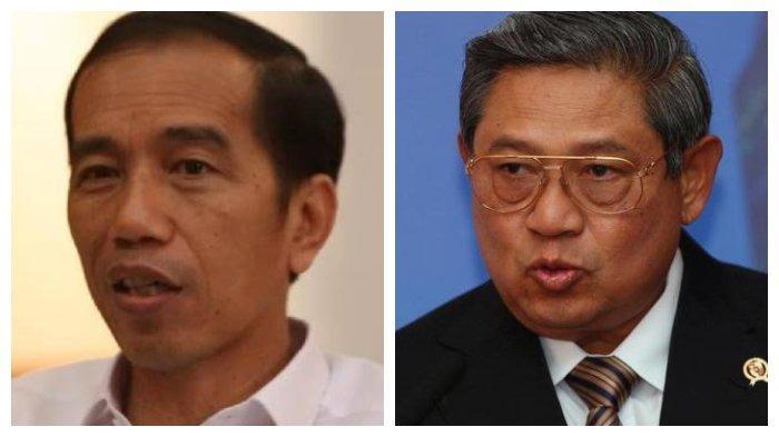 Presiden Jokowi dan Mantan Presiden SBY