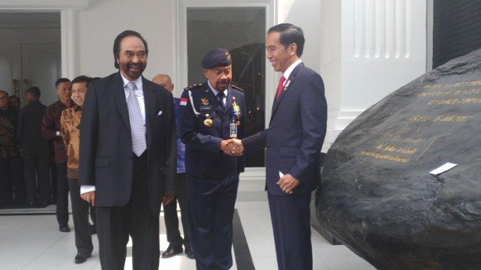 Presiden Jokowi dan Surya Paloh