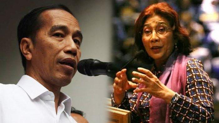 Susi Pudjiastuti Minta Jokowi Cegah Kapal Asing Masuk Laut Indonesia, 'Saya Mohon Pak Presiden'