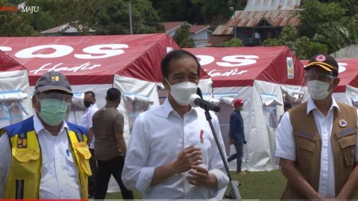 Jokowi akan Beri Bantuan Perbaikan Rumah Korban Gempa di Mamuju: Rusak Berat Rp 50 Juta
