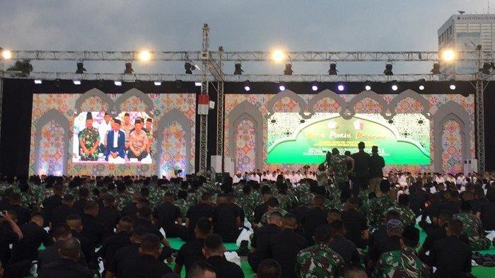 Buka Puasa Bersama TNI-Polri, Jokowi Minta Bibit Terorisme Dipangkas
