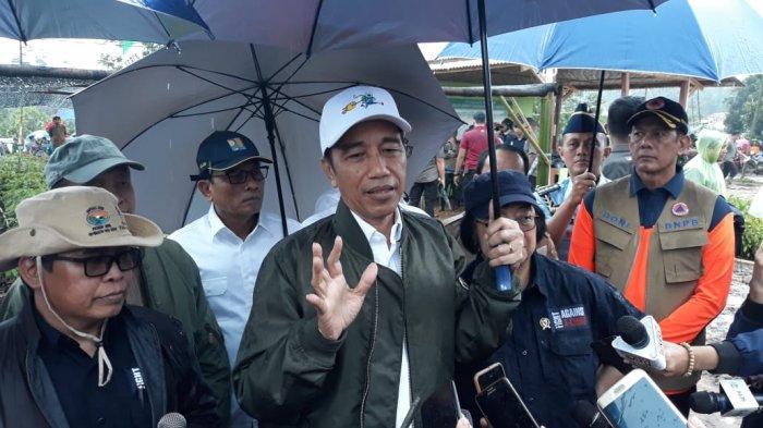 Jokowi Siapkan Pohon Jengkol, Durian, dan Petai Untuk Ditanam di Lokasi Longsor Sukajaya Bogor