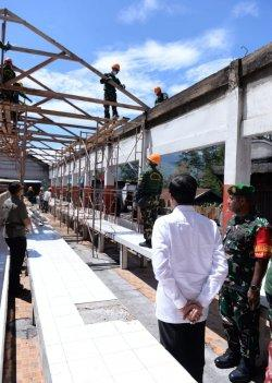 Presiden tinjau lokasi kerusuhan Wamena Senin 28 Oktober