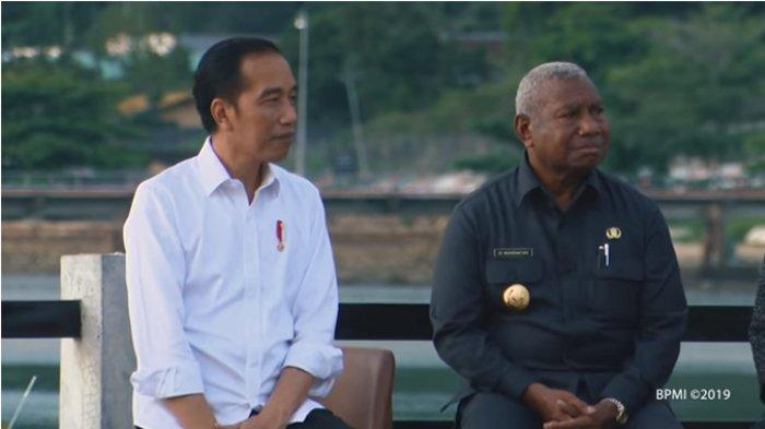 Presiden Joko Widodo kunjungan kerja ke Provinsi Papua Barat, Minggu (27/10/2019) menyambangi Taman Kota Senja di Kabupaten Kaimana, sebuah kabupaten yang terletak di