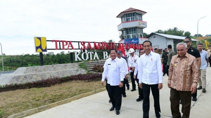 Presiden Joko Widodo berkunjung ke Provinsi Kalimantan Timur