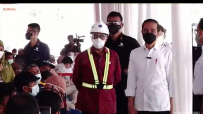 Jokowi Tekankan Pentingnya Vaksinasi bagi Masyarakat Pelabuhan