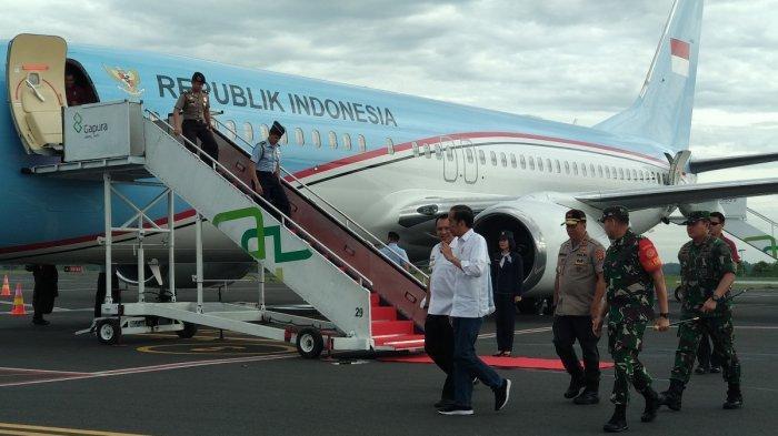 Presiden Jokowi Sisir Desa Terdampak Tsunami di Lampung, 1.000 Personel Siaga di Lokasi Bencana