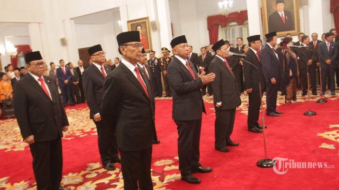 Resmi Dilantik Presiden Jokowi, Ini Tugas dan Besaran Gaji yang akan Diterima Wantimpres