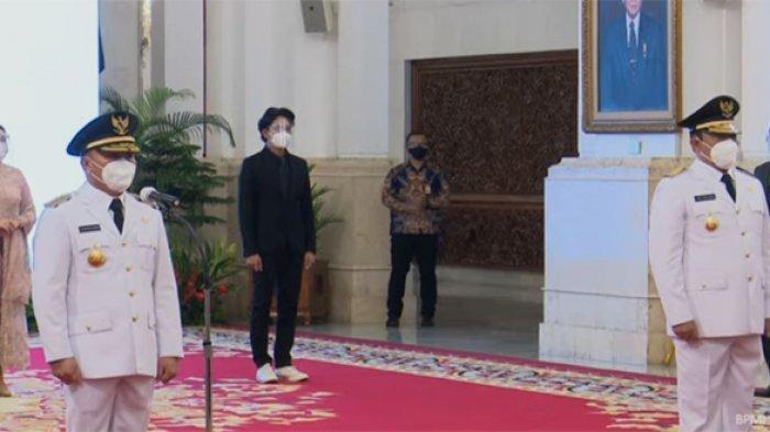 Jokowi Lantik Sugianto Sabran - Edy Pratowo Sebagai Gubernur dan Wagub Kalteng
