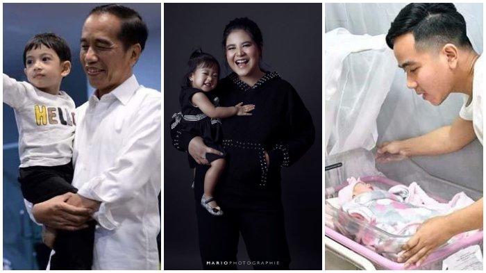 3 Arti Nama Cucu Presiden Jokowi, Jan Ethes Srinarendra, Sedah Mirah Nasution, dan La Lembah Manah
