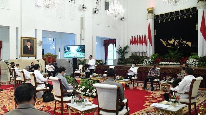 Presiden Jokowi: Saya Minta Semuanya Dipercepat, Terutama yang Anggarannya Besar-besar