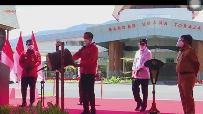 Jokowi Singgung Plt Gubernur Sulawesi Selatan Andi Sudirman Sulaiman yang Banyak Maunya