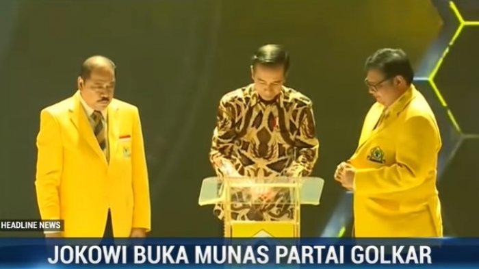 Isu Istana Intervensi Munas Golkar, Jokowi: Mana yang Bilang, Silakan Maju Saya Beri Sepeda