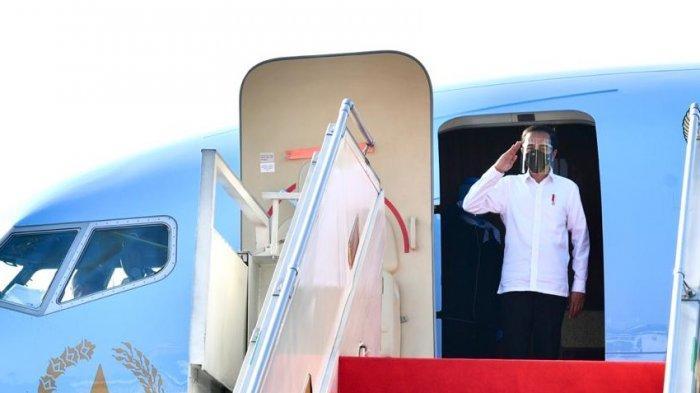 Jokowi Kunjungi Kampung Halaman SBY untuk Resmikan Bendungan Tukul