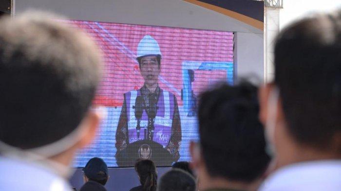Presiden Jokowi Optimis Ekonomi Indonesia Bangkit 2021