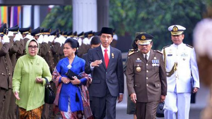 Jokowi Gelar Halalbihalal di Istana Negara