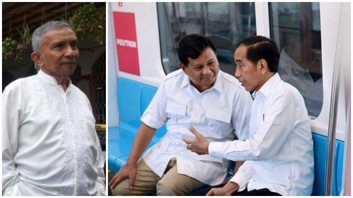 Jokowi-Prabowo bertemu, Amien Rais Komentar