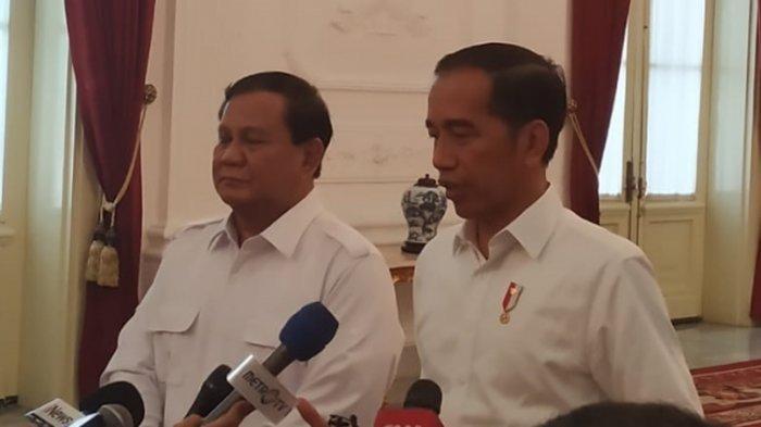 Prabowo Subianto dan Presiden Joko Widodo