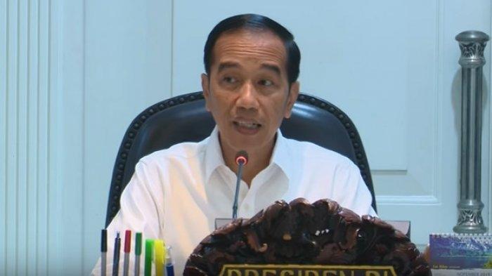 Presiden Jokowi pimpin rapat terbatas mengenai pengembangan destinasi prioritas pariwisata.