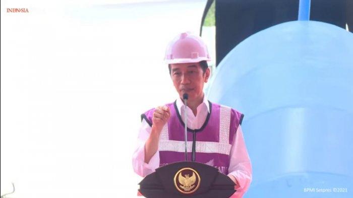 Jokowi Resmikan Dua Ruas Tol Bagian dari JORR 2