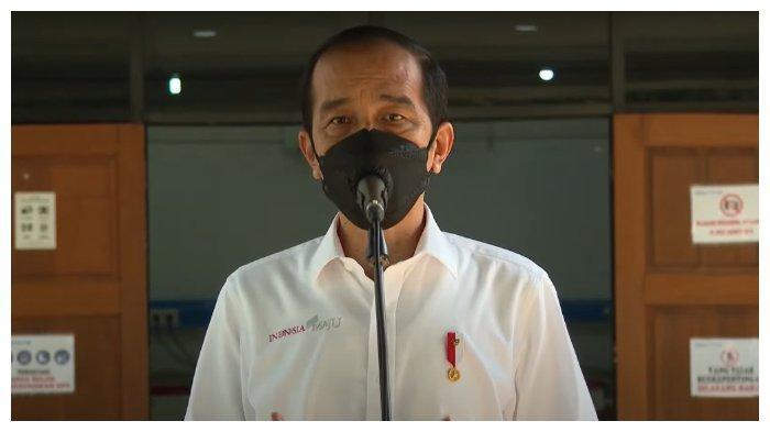 Jokowi Optimistis Bisa Vaksinasi 5 Juta Orang Per Hari