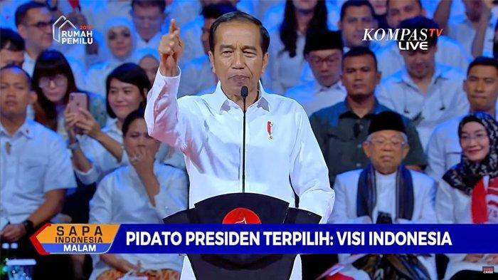 Survei Indo Barometer: 64,6 Persen Masyarakat Puas Kinerja Jokowi, 40,8 Persen untuk Ma'ruf Amin