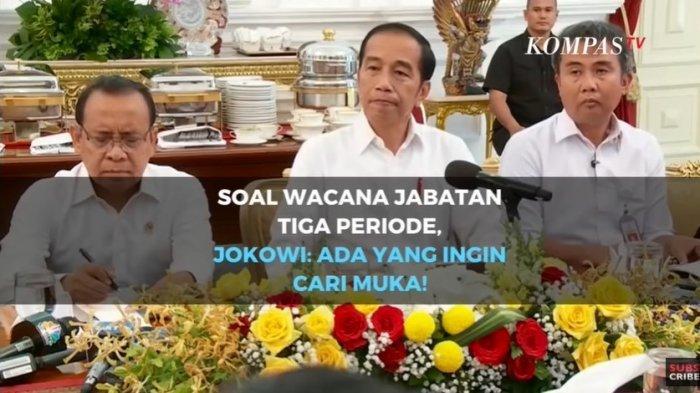 Soal Wacana Penambahan Masa Jabatan Presiden, Jokowi: Yang Usul Ingin Menampar Muka Saya