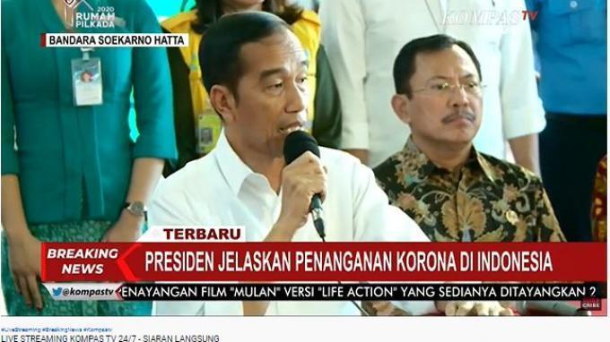 Jokowi Akui Ingin Buka Data Pasien Positif Corona (COVID-19), tapi Ada Pertimbangan Lain